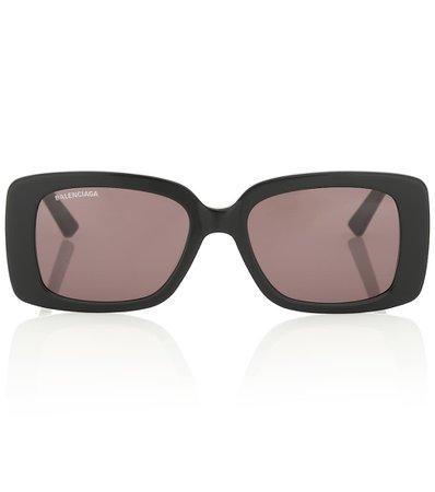 Rectangular Sunglasses - Balenciaga   Mytheresa