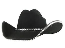 clear rhinestone bound edge with matching hat band cowgirl hat,cowgirl hats with bling - wwb.hats2020s.com