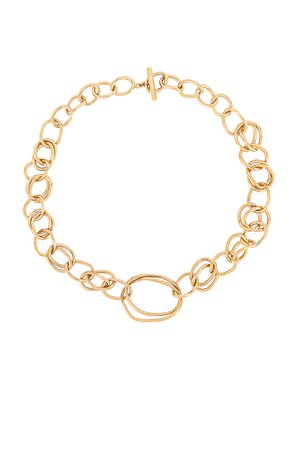 gold chain link necklace - REVOLVE