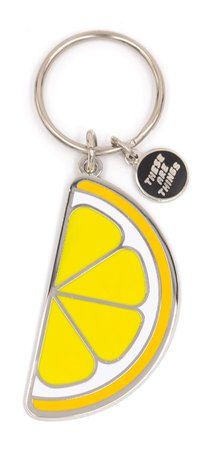 lemon key chain