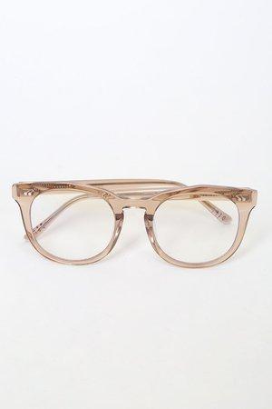 DIFF Eyewear Weston - Blue Light Glasses - Clear Glasses - Lulus