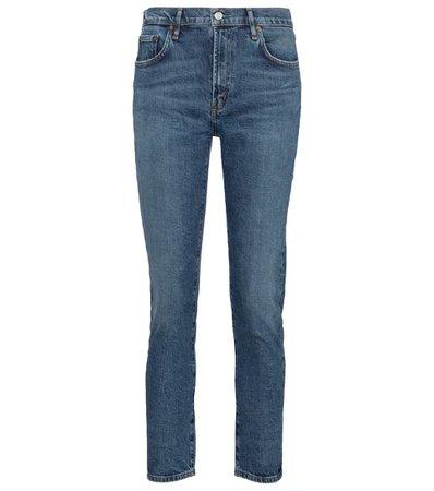 Agolde - Toni mid-rise slim jeans   Mytheresa