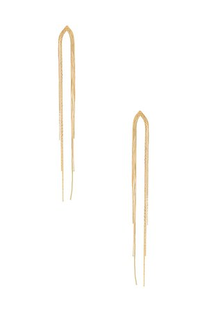 Amber Sceats Dangle Earring in Gold | REVOLVE