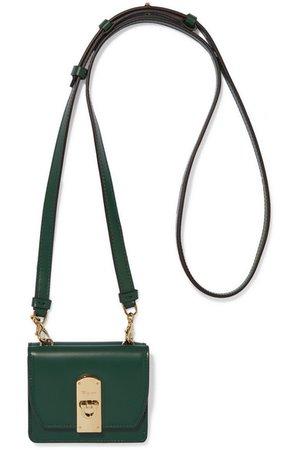 Salvatore Ferragamo   Mini leather shoulder bag   NET-A-PORTER.COM