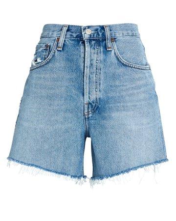 AGOLDE Riley Cut-Off Denim Shorts | INTERMIX®
