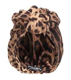 Dolce & Gabbana - Leopard turban   Mytheresa