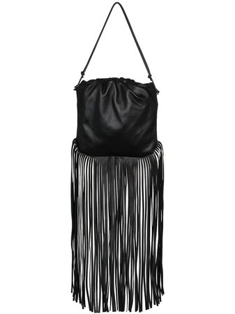 Bottega Veneta Fringed Leather Shoulder Bag - Farfetch