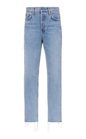 Remy High-Rise Straight-Leg Jeans by Agolde | Moda Operandi
