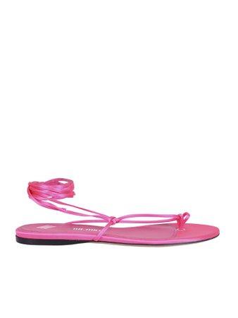 The Attico Satin Sandals