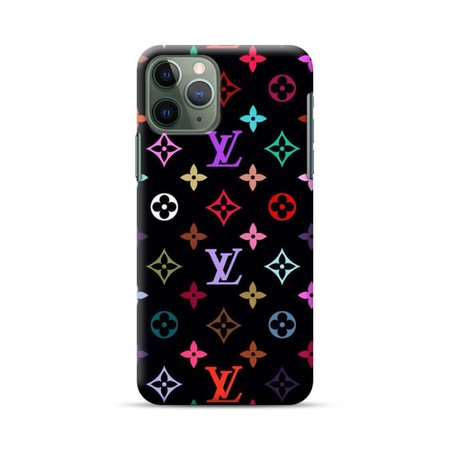 Colorful Louis Vuitton Logo iPhone 11 Pro Max Case | CaseFormula