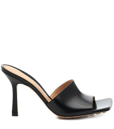 Leather Sandals - Bottega Veneta | Mytheresa
