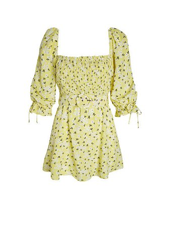 Chrysanthemum Mini Dress - For Love & Lemons - vs