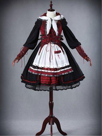 red riding hood lolita steampunk - Google Search