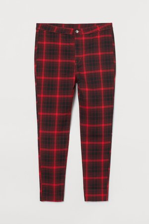 Stretch Twill Pants - Red