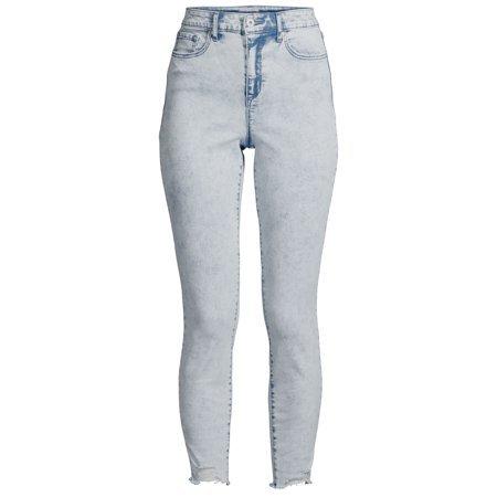 Sofia Jeans by Sofia Vergara - Sofia Jeans by Sofia Vergara Rosa Curvy Ripped Hem High Waist Jeans, Women's - Walmart.com - Walmart.com blue