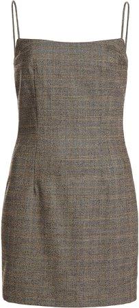 Zeynep Arcay Wool-Blend Mini Dress