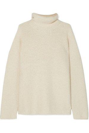 Lauren Manoogian | Alpaca and organic cotton-blend turtleneck sweater | NET-A-PORTER.COM