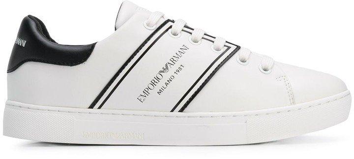 Side Logo Sneakers