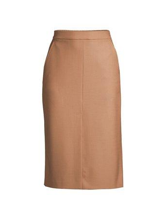 Seventy Italian Wool Straight Pencil Skirt | SaksFifthAvenue