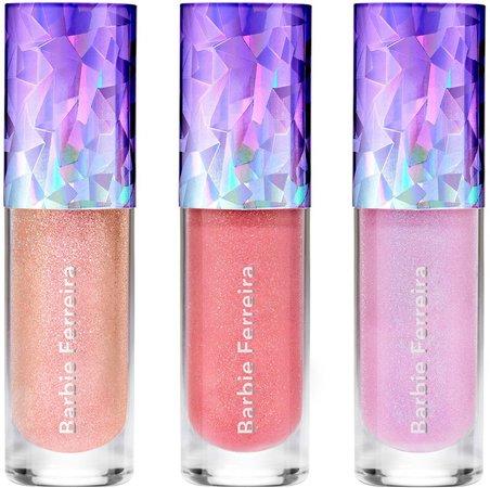 x Barbie Ferreira Prismatica Lip Gloss Set