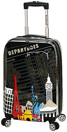 Amazon.com   Rockland Departure Hardside Spinner Wheel Luggage Set, Carry-On 20-Inch   Luggage Sets