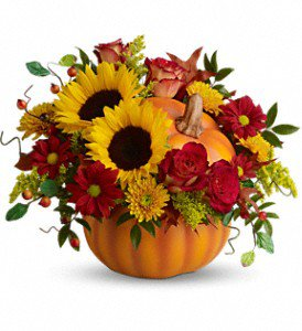 Teleflora's Pretty Pumpkin Bouquet in Ramona CA - Sun Valley Florist