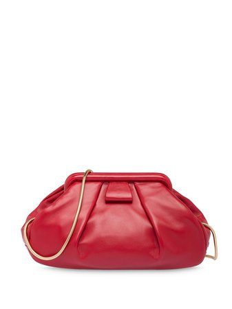 Miu Miu Nappa Leather Clutch - Farfetch