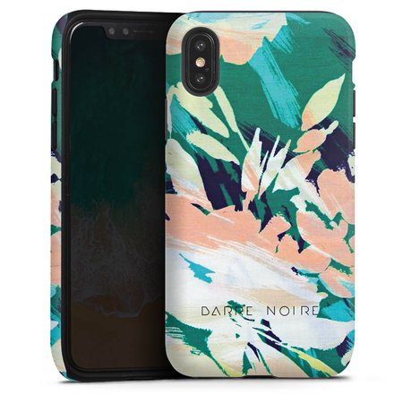 estival turquoise für Tough Case (matt) für Apple iPhone X von DeinDesign™