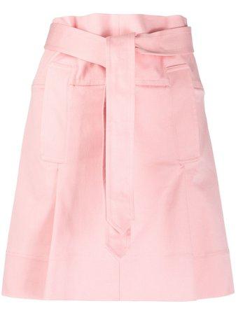 Salvatore Ferragamo Paperbag Skirt