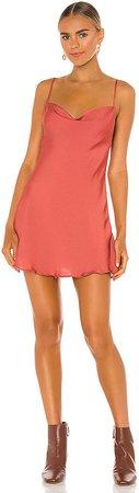 Cowl Girl Slip Dress