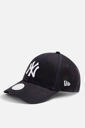 Navy New Era NY 940 Cap   Topshop
