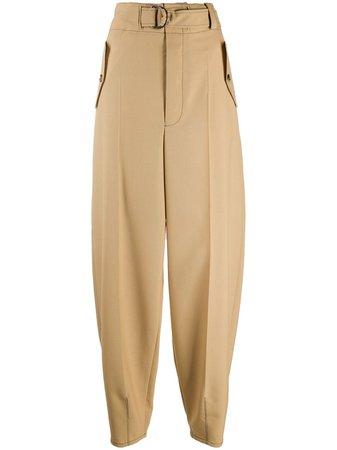 Marni High-Waist Balloon-Leg Trousers Ss20 | Farfetch.com