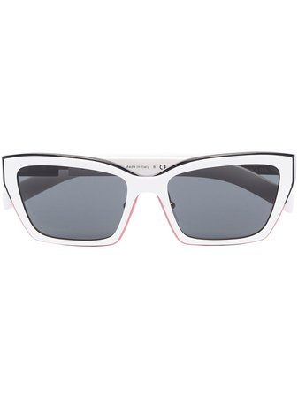 Prada Eyewear Wayfarer Tinted Sunglasses - Farfetch
