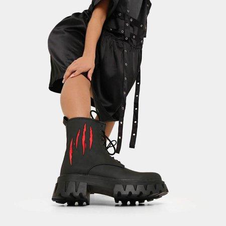 Scissorhands Horror Boots | Koi