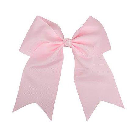 Amazon.com : Light Pink Jumbo Bow Clip with Tails : Beauty
