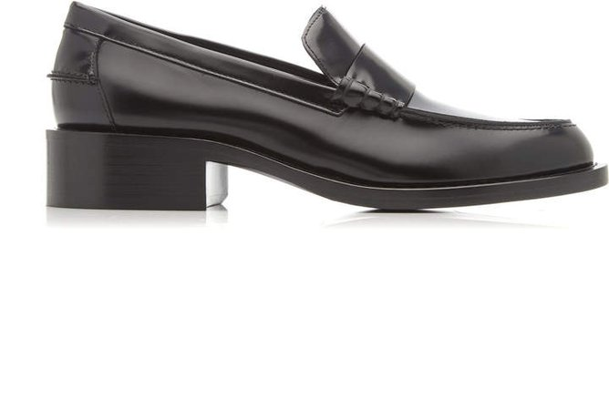 Marina Moscone Leather Loafers