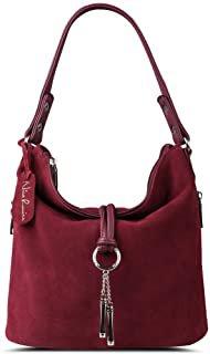 Amazon.com : burgundy red bag