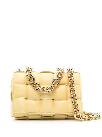Bottega Veneta Permanent Collection Yellow Shoulder Bag – petiterobe