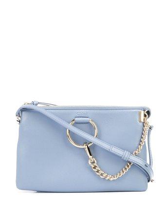Chloé Faye ring-embellished Crossbody Bag - Farfetch