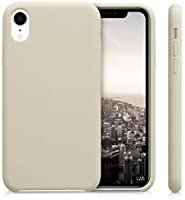kwmobile Case for Apple iPhone XR - TPU Mobile Phone Case - Matte Beige Back Cover: Amazon.co.uk: Electronics