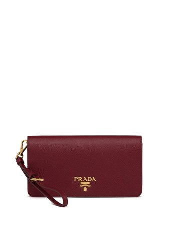 Prada Logo Plaque Saffiano Mini Bag Ss20 | Farfetch.com