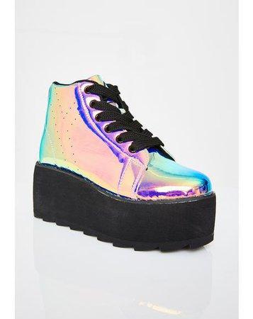 👠 Y.R.U. Shoes - Platform Sneakers, Boots, Qozmo | Dolls Kill