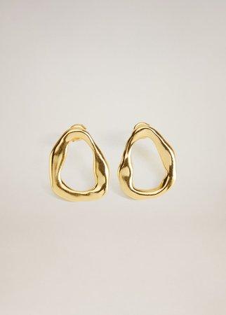 Asymmetric earrings - Women | Mango USA