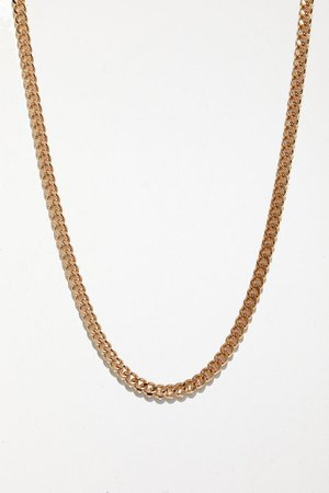 UO Curb Chain Necklace   Urban Outfitters