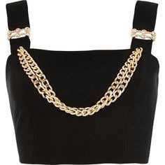 Chain Crop Top