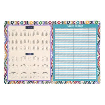 Color Me Brilliant Collection, 2020-2021 Academic Planner, Multi-Colored, 8.5 x 11-inch, 32 Pages | Mardel | 8006587