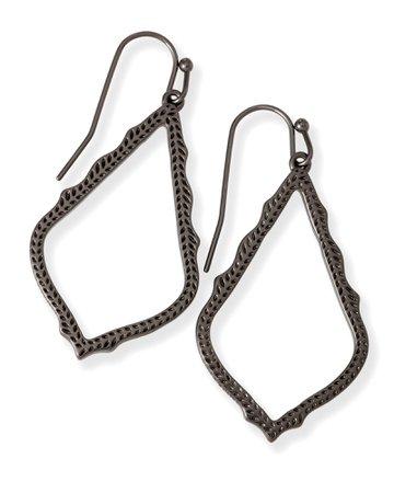 Sophia Drop Earrings in Gunmetal | Jewelry | Kendra Scott