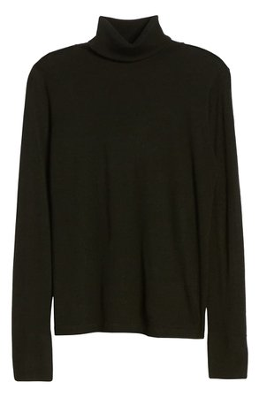 Halogen® Turtleneck Merino Wool Blend Sweater | Nordstrom