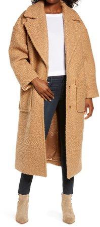 Hattie Long Faux Fur Coat