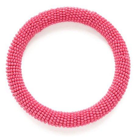 Hot pink bracelet Ink and Alloy